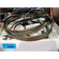 Oxy acetaline welding set; hoses, torch and