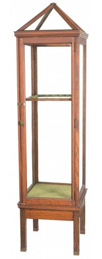 Rare and Desirable Glass Winchester Store Display Gun Cabinet