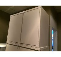 5 DRAWER LATERAL FILE CABINET WITH TWO DOOR STORAGE ...