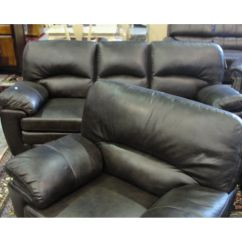 Parker 2 Piece Sofa And Loveseat In Brown La Z Boy Tamla 3 Seater Power Recliner 4 Chocolate Leather Set