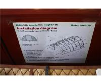 30'X40'X15' COVER ALL STORAGE SHELTER (HIGH CEILING ...