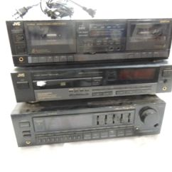 Jvc Radio Update 3000gt Fan Wiring Diagram Stereo System Cassette Deck Cd Player Receivr