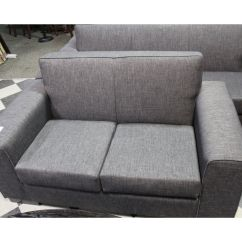 Charcoal Gray Sofa Set Extra Large Covers For Pets Grey 3 Piece Includes 4 Seat