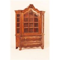 Antique Dutch Salesman's Sample China Cabinet