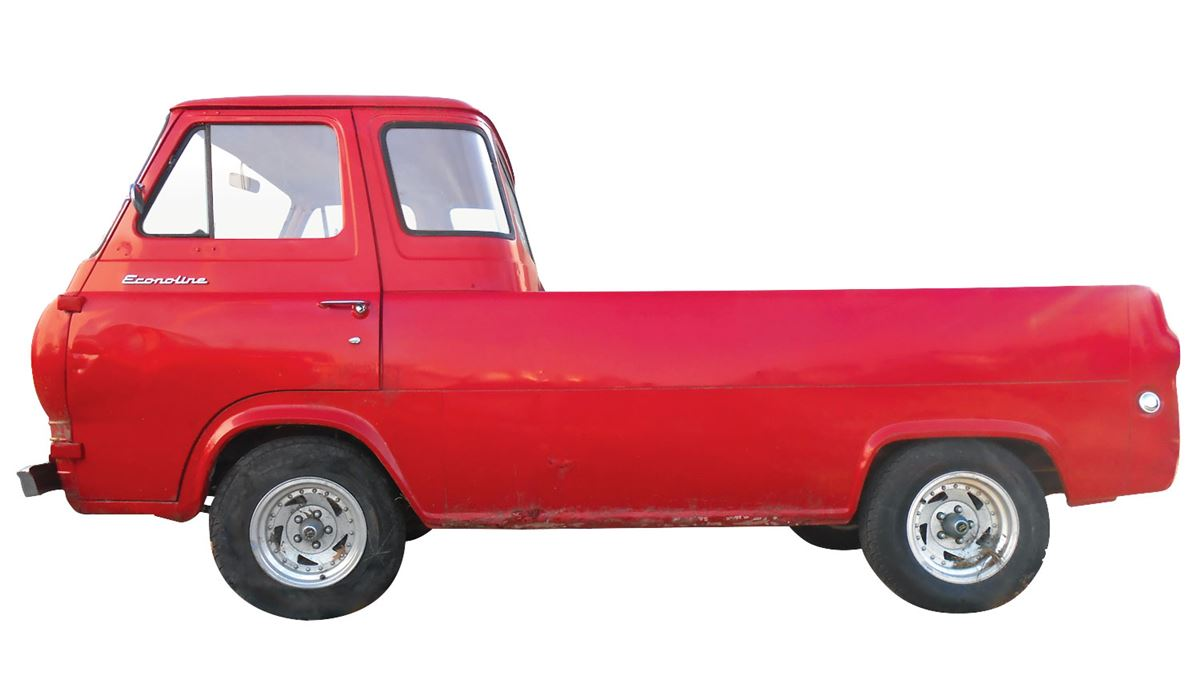 hight resolution of image 1 pick up 1962 ford econoline van pick up red