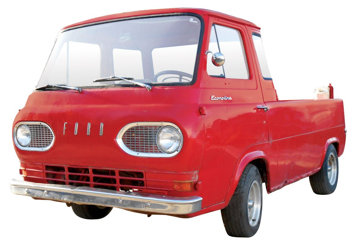 hight resolution of  image 3 pick up 1962 ford econoline van pick up red