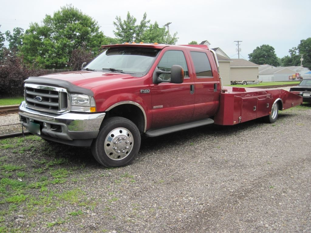 hight resolution of image 1 2003 ford f450 lariat crew cab wedgeback