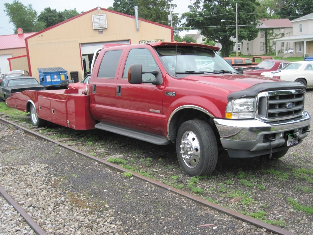 small resolution of  image 4 2003 ford f450 lariat crew cab wedgeback