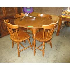 Used Table And Chairs For Restaurant Use Chair Design Through The Ages Round Wood Dining With 4