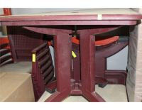 OUTDOOR COMMERCIAL GRADE PATIO TABLE SETS - Kastner Auctions