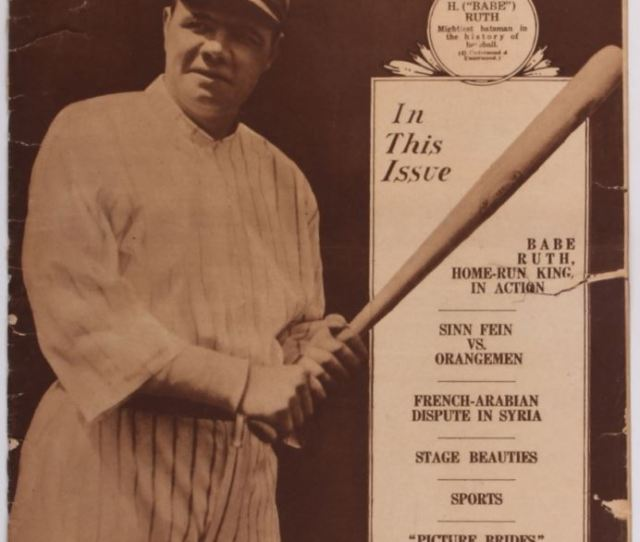 Babe Ruth Yankees Original Vintage The New York Times Mid Week Pictorial Newspaper Dated August Loading Zoom