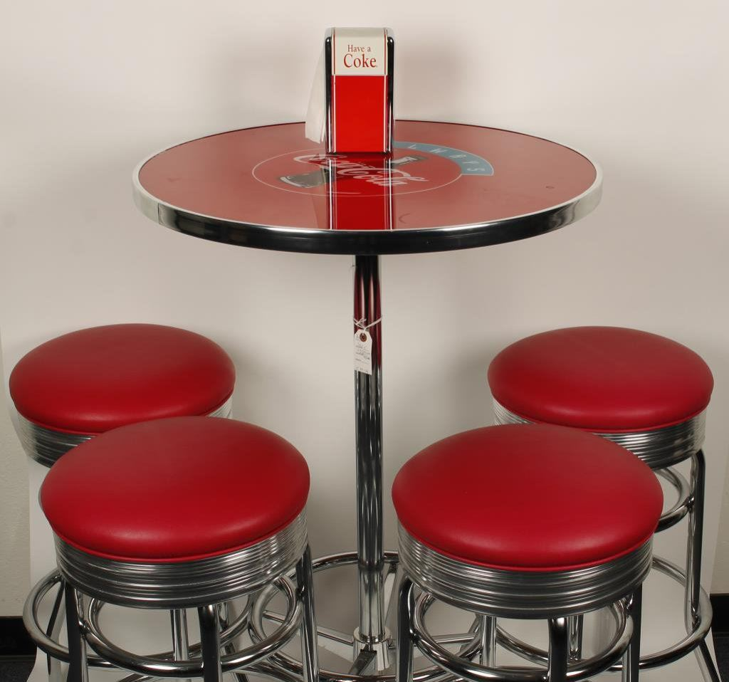 Coca Cola Table And Chairs Beautifully Restored Coca Cola Soda Fountain Circular