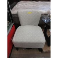New accent chair with wide seat