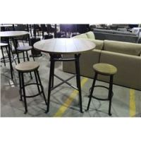 3 PIECE PUB STYLE PATIO SET - TABLE WITH TWO STOOLS - Able ...