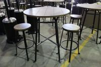 3 PC. PUB STYLE PATIO SET - WITH 2 STOOLS