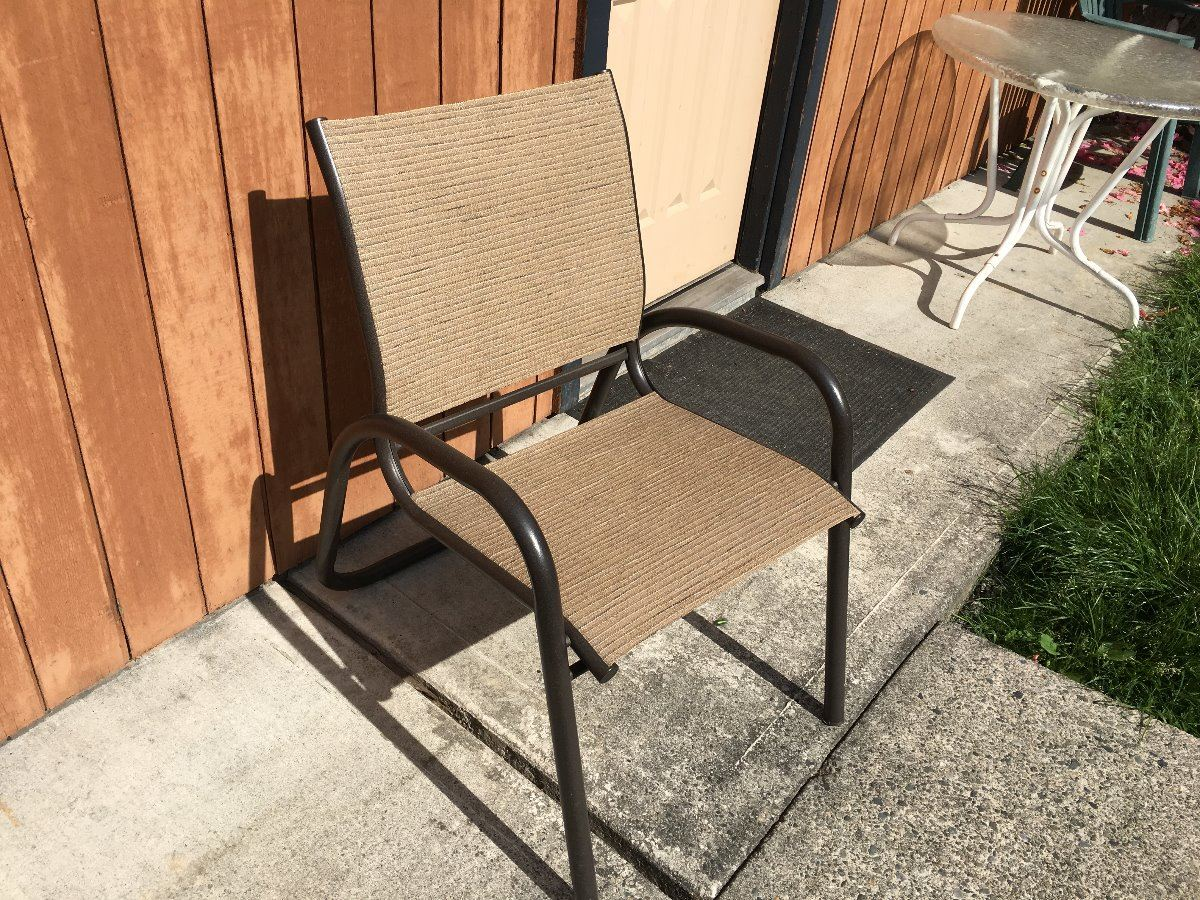 Mesh Patio Chairs Qty Of Pool And Patio Furniture Inc 8 Chaise Chairs 3