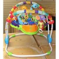 BABY EINSTEIN JUMPEROO AND BRIGHT STARTS PLAY MAT