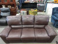 Natuzzi leather sofa - used