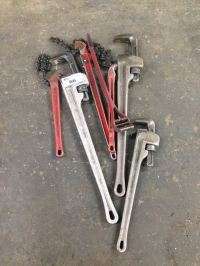 RIGID PIPE BENDERS AND PIPE WRENCHES