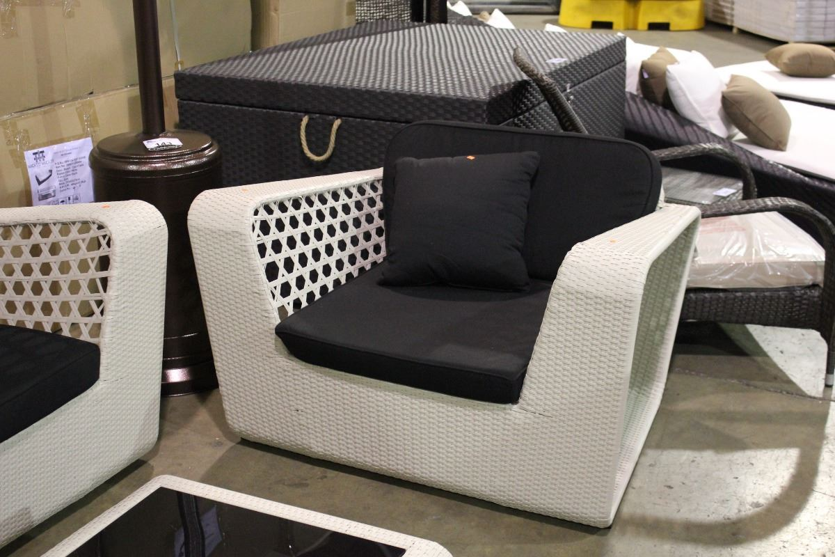 rattan 4 piece sofa set black standard cushion dimensions wicked wicker white and outdoor patio