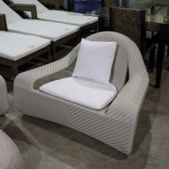 White Rattan Outdoor Sofa Foldable Mattress Wicked Wicker Woven Patio Set Able