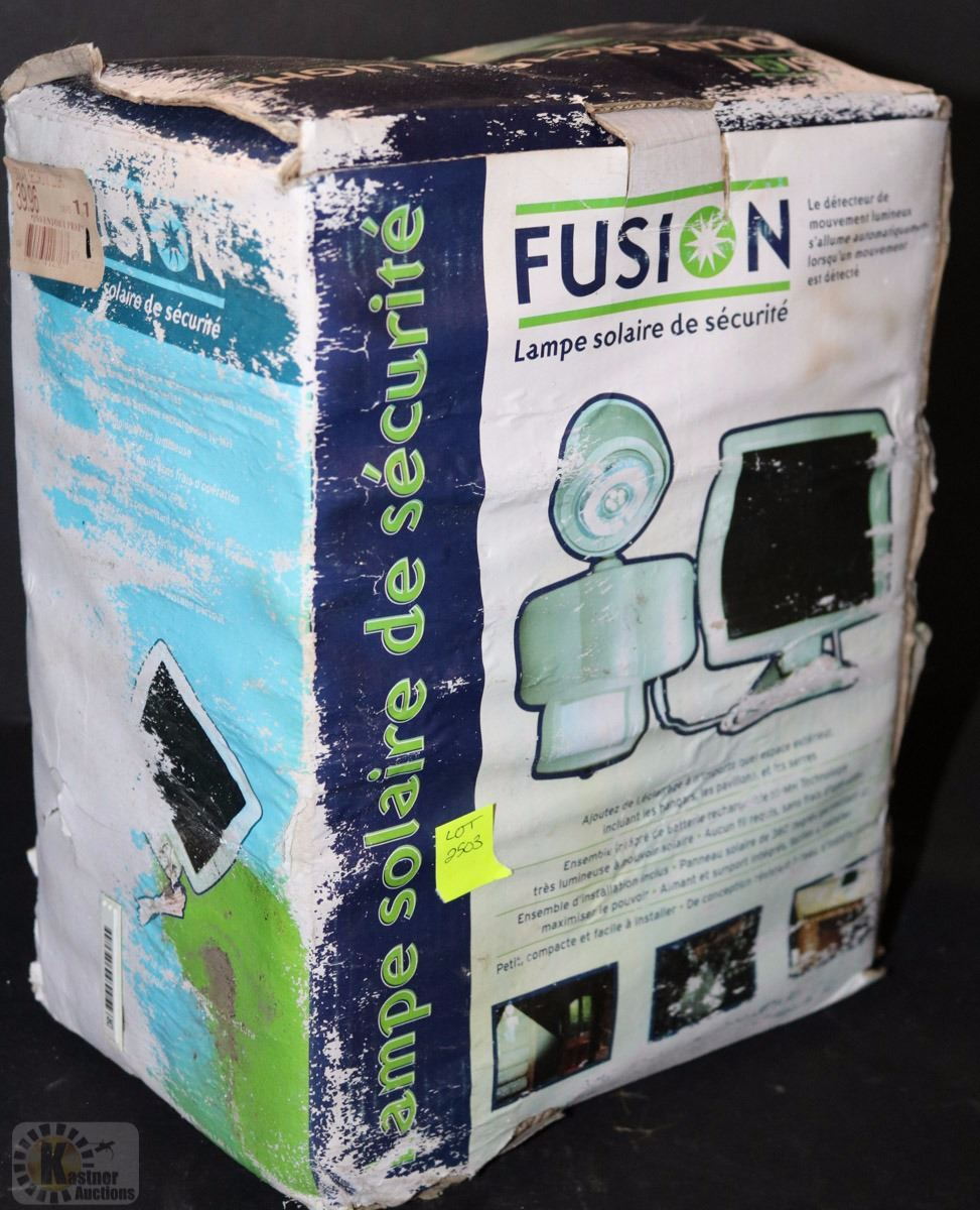 FUSION SOLAR SECURITY LAMP