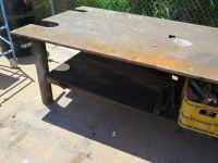 Metal Work Table - 8 ft X 4 ft, 31 Inches Tall