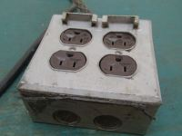 Hubbell Extension Outlet Box - BTM Industrial
