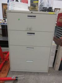 4 Drawer legal size file cabinet