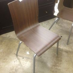 Plastic Bentwood Bistro Chairs Small Living Room Chair Walnut Stacking