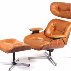 Selig Eames Chair Office Chairs For Lower Back Support Mid Century Leather Lounge 1960 Image 1