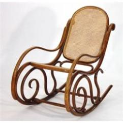 Bent Wood Rocking Chair Gravity Free Thonet Bentwood With Reeded S