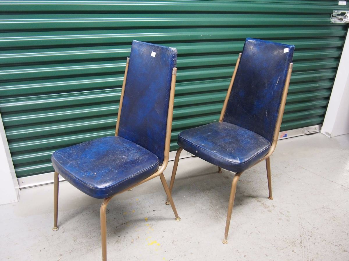 Blue Upholstered Dining Chairs Blue Upholstered Dining Chairs 8 Bodnarus Auctioneering
