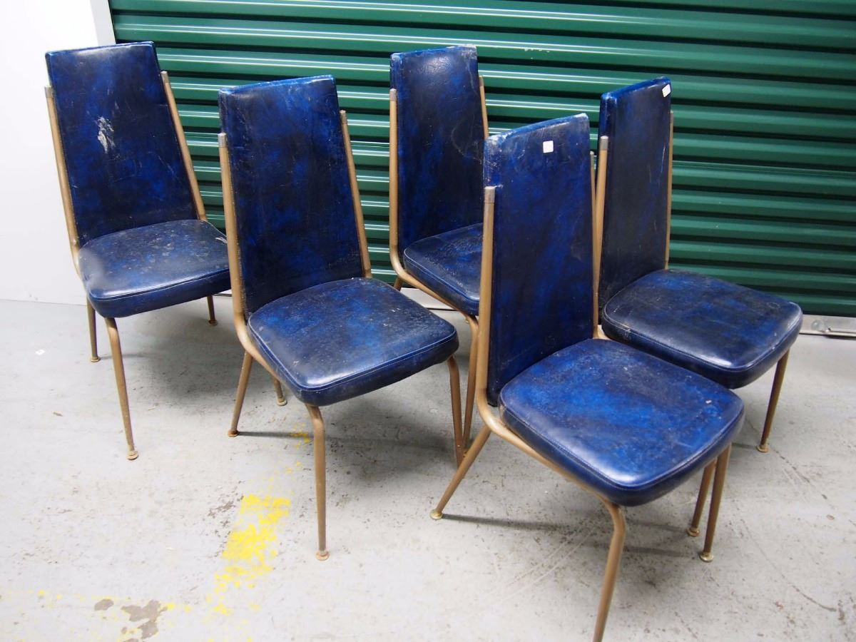 Blue Upholstered Dining Chairs Blue Upholstered Dining Chairs 8