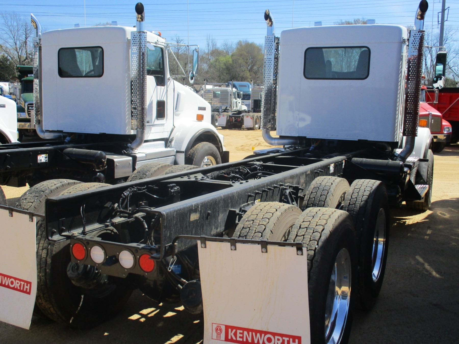 hight resolution of  image 3 2018 kenworth t800 cab chassis vin sn 1nkdl40xxjj205445