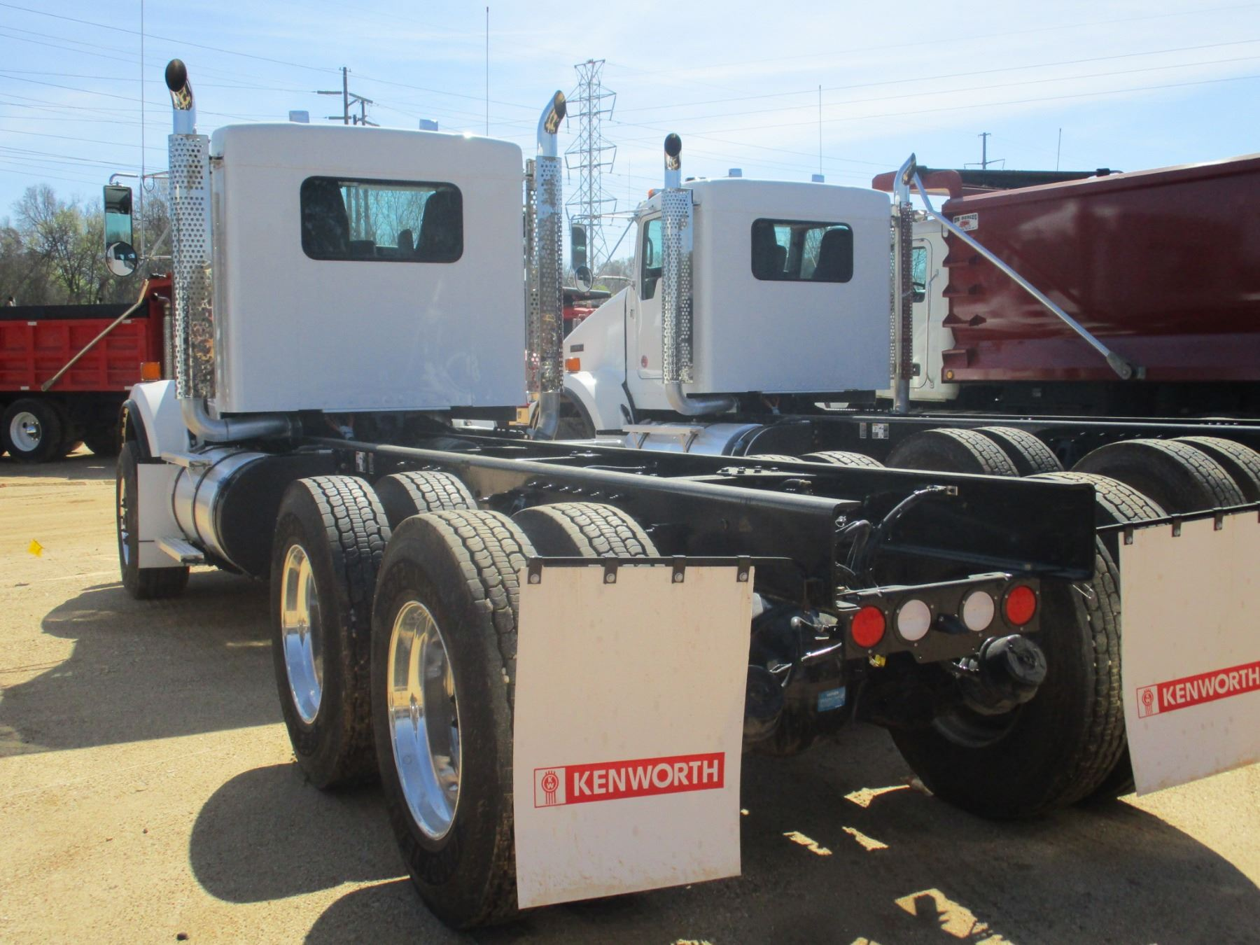 hight resolution of  image 4 2018 kenworth t800 cab chassis vin sn 1nkdl40x6jj205443