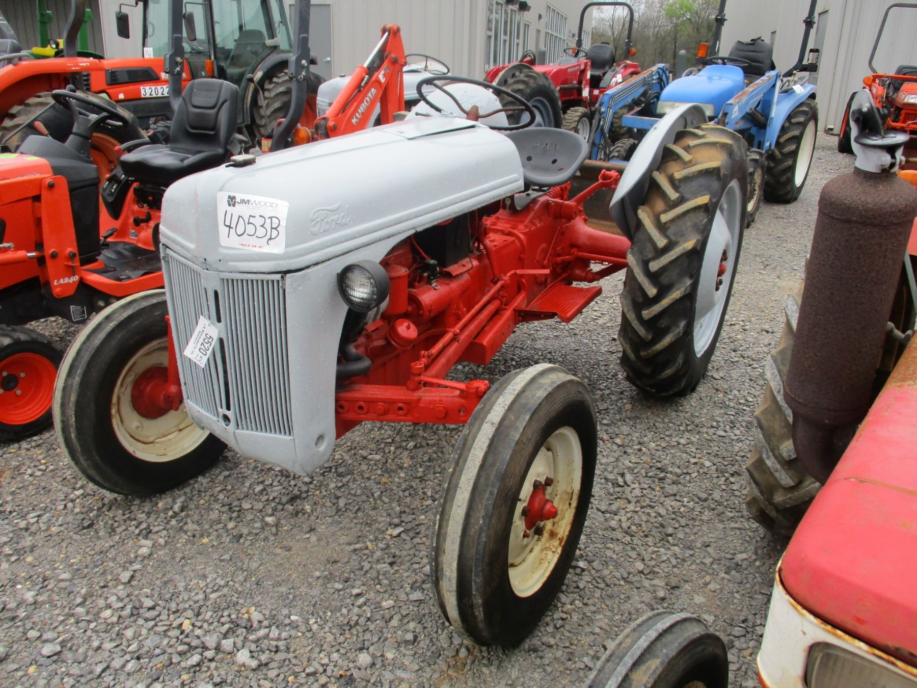 hight resolution of image 1 ford jubilee farm tractor pto 3 pth