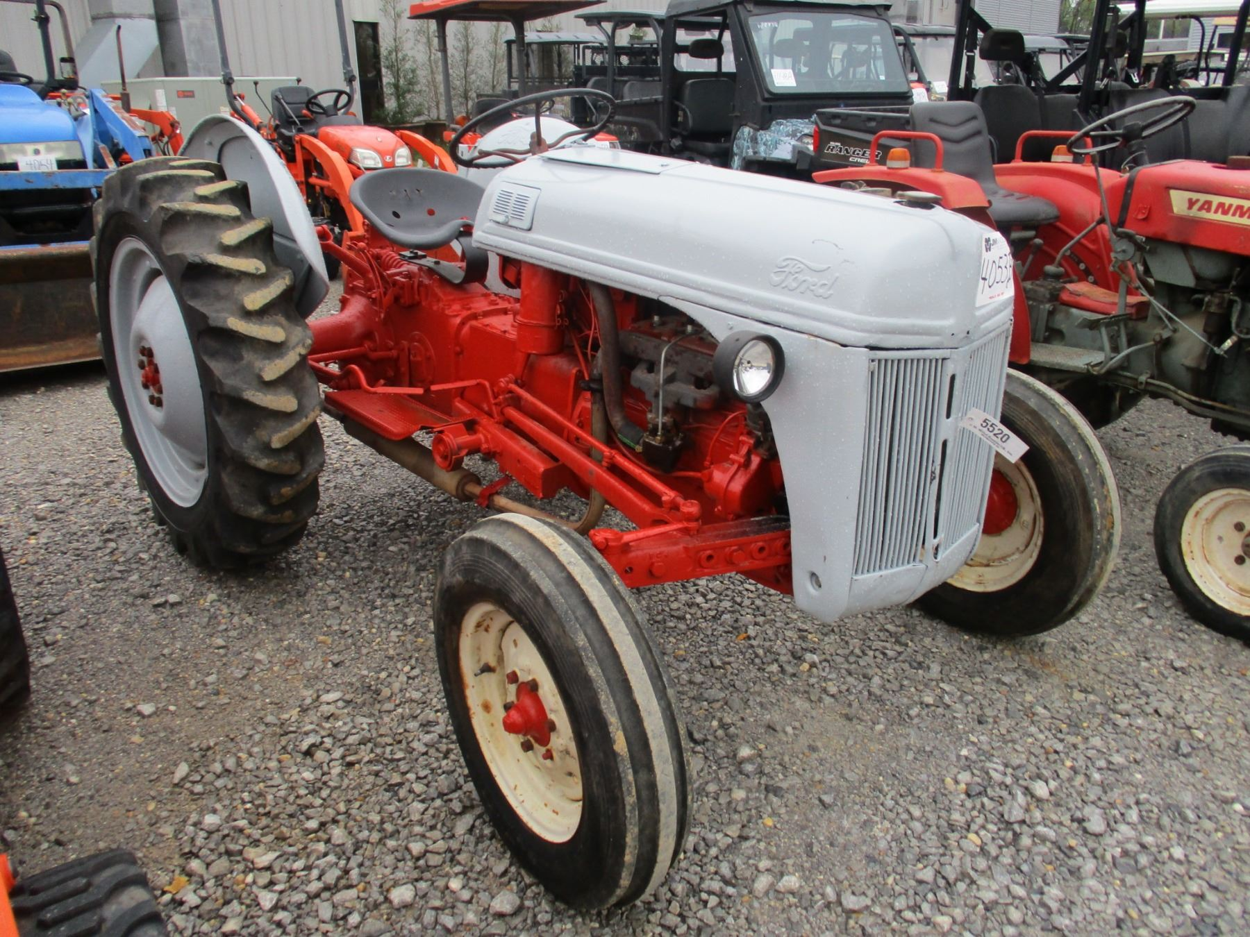 hight resolution of  image 2 ford jubilee farm tractor pto 3 pth