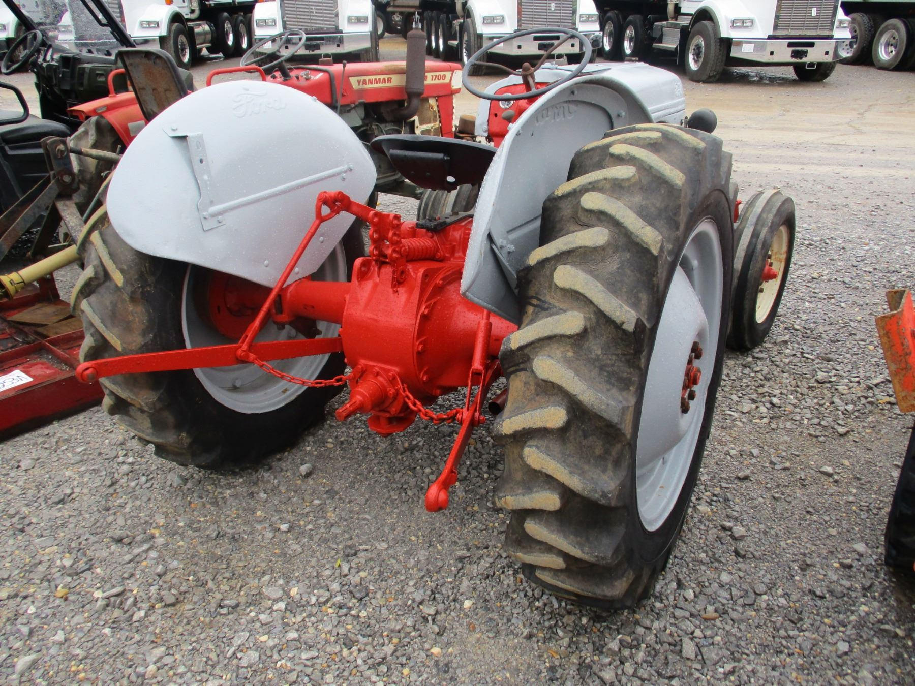 medium resolution of  image 3 ford jubilee farm tractor pto 3 pth