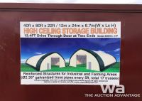 40 X 80 X 22 FT. HIGH CEILING STORAGE BUILDING