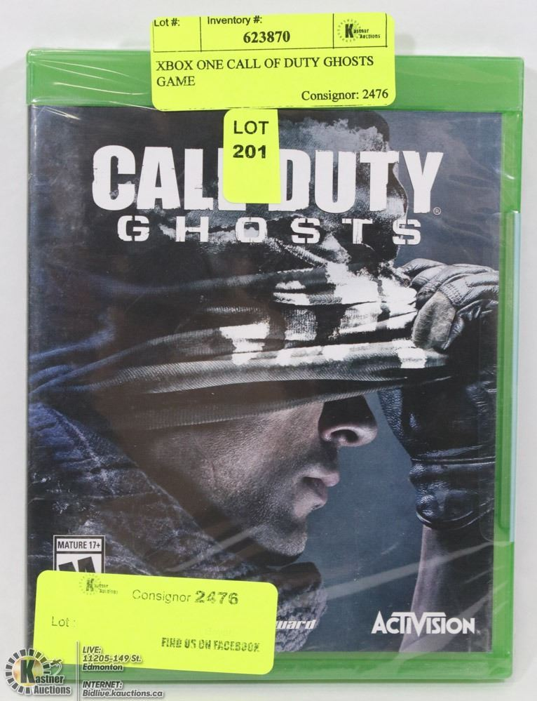 Xbox One Call Of Duty Ghosts Game