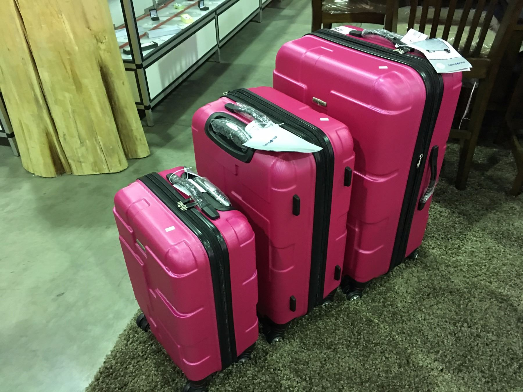 6b733887a7ce 20+ Samsonite Spinner Luggage Set Pink Pictures and Ideas on Weric