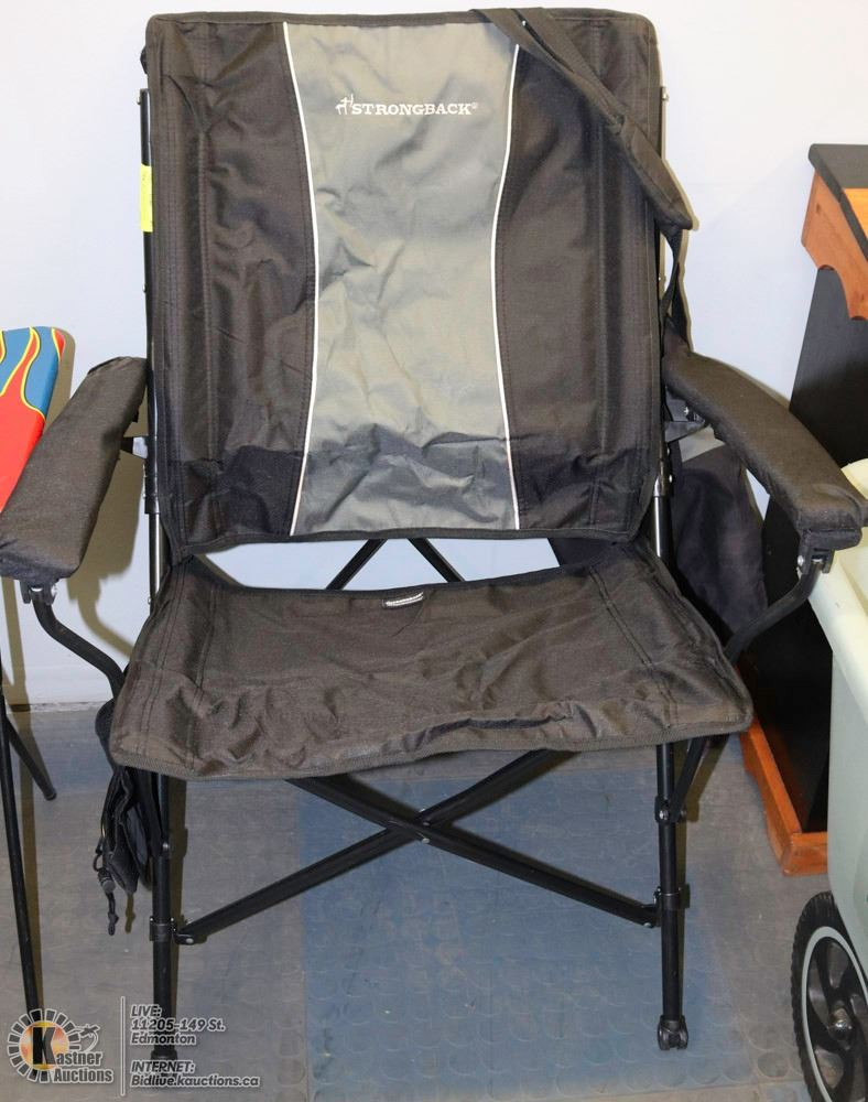 strongback chairs canada chair covers ottawa strong back xl fold open camp image 1