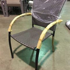 Grey Weave Garden Chairs All Weather Wicker Outdoor Dining Kettler Pilano Patio Chair Silver