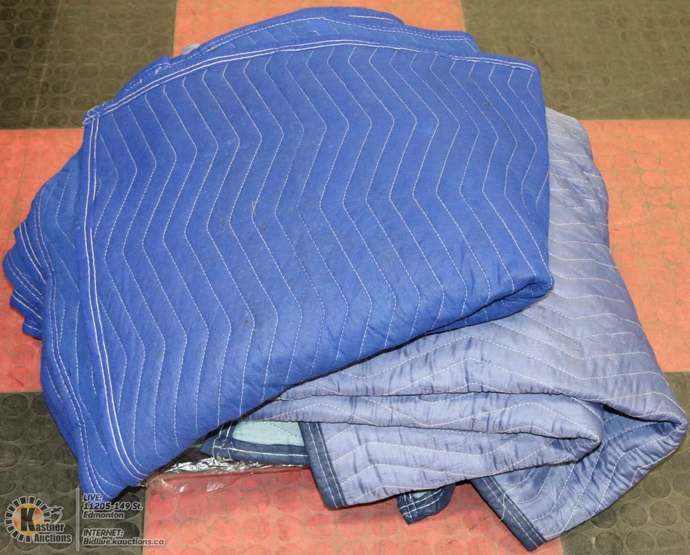 Lot Of 4 Moving Blankets