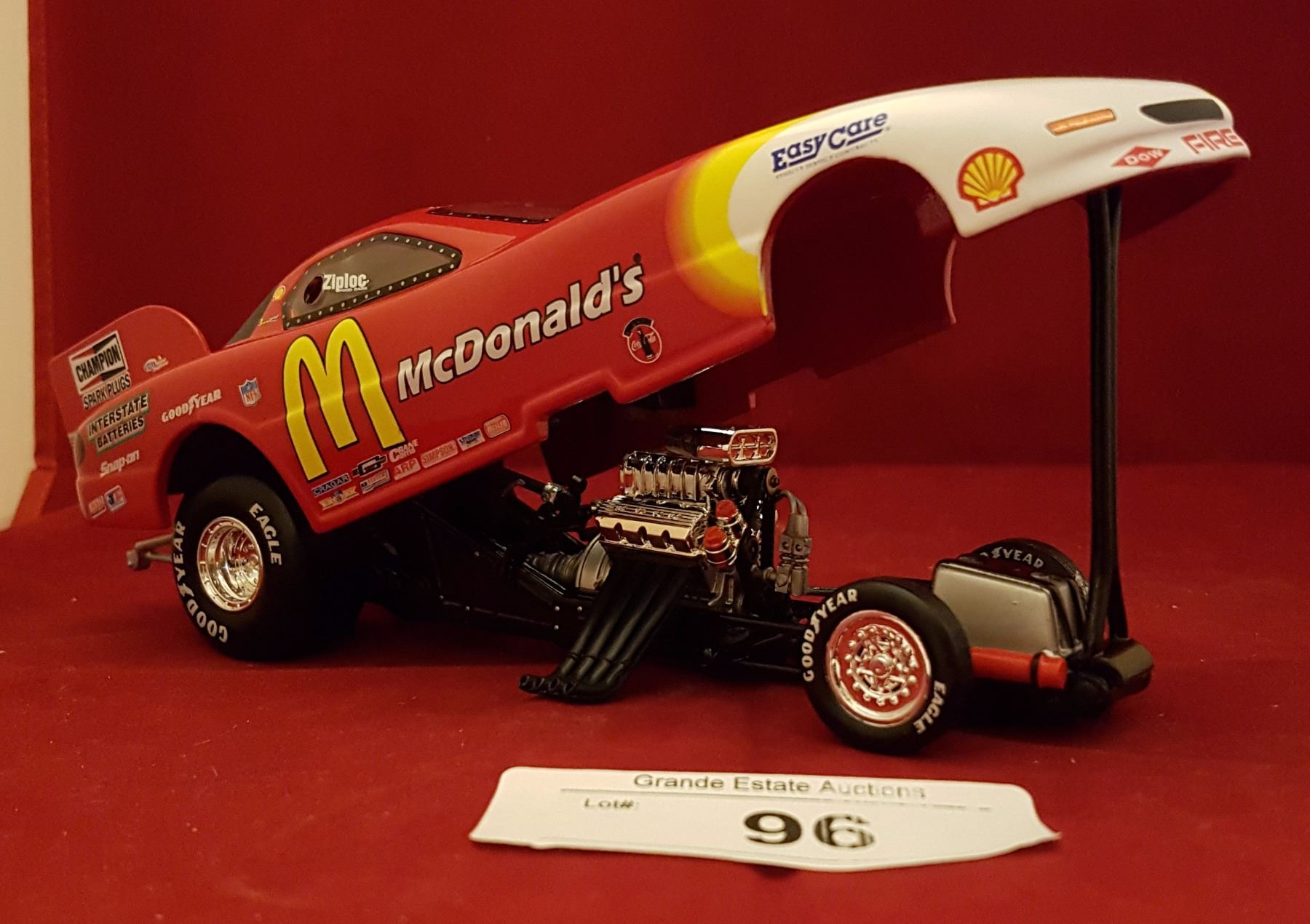 1997 Mcdonald' Funny Car Die Cast 1 24 Scale