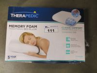 THERAPEDIC CLASSIC SIZE MEMORY FOAM PILLOW - Able Auctions