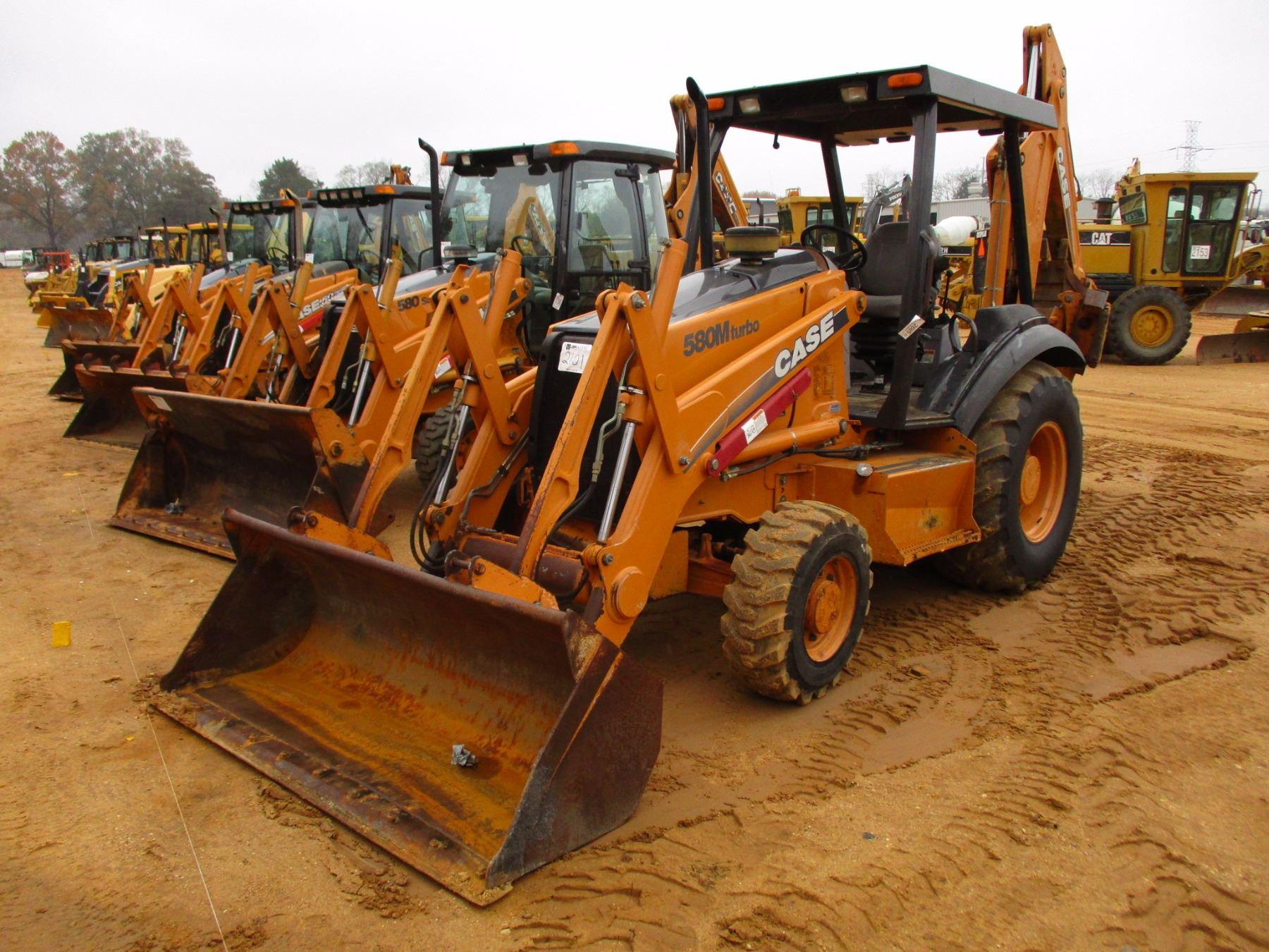 hight resolution of image 1 2003 case 580m loader backhoe vin sn jjg0309088 4x4