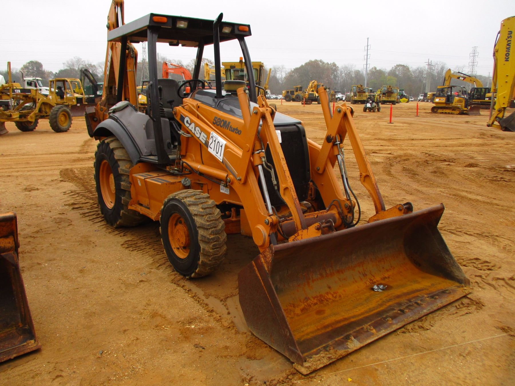 small resolution of  image 2 2003 case 580m loader backhoe vin sn jjg0309088 4x4