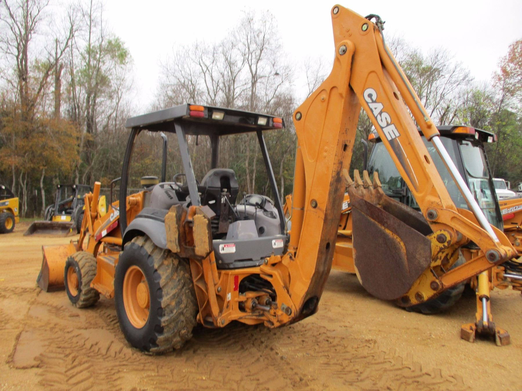 small resolution of  image 4 2003 case 580m loader backhoe vin sn jjg0309088 4x4